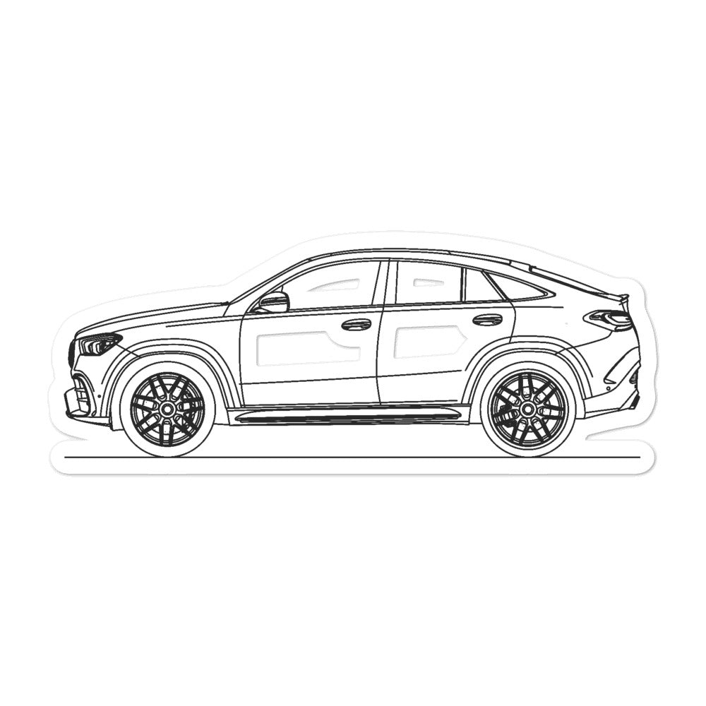 Mercedes-AMG W167 GLE 63 Coupe Sticker