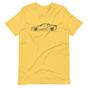 BMW i8 T-shirt Yellow - Artlines Design