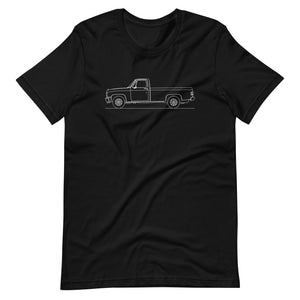 Chevrolet C/K 3rd Gen T-shirt Black - Artlines Design