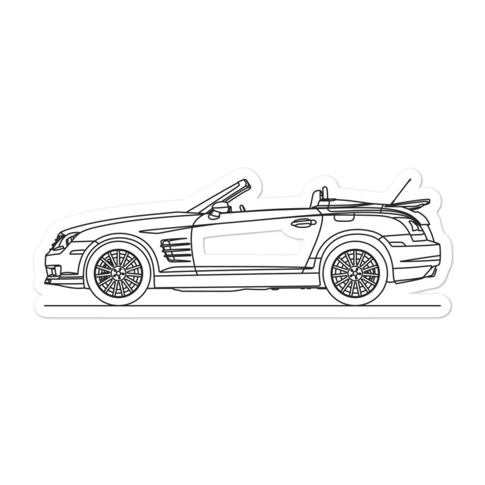 Chrysler Crossfire SRT-6 Sticker - Artlines Design