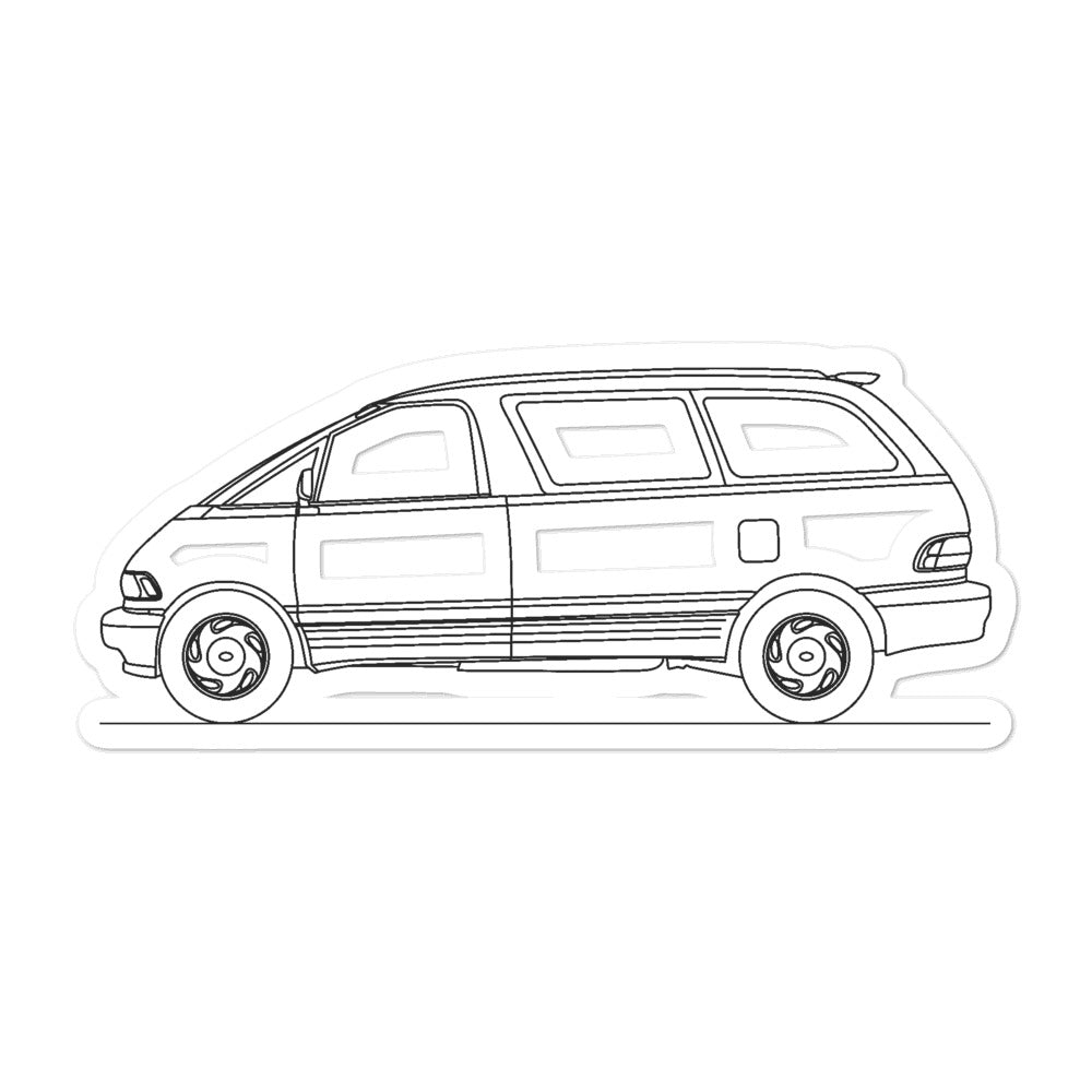 Toyota Previa XR10/XR20 Sticker