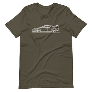 BMW E26 M1 Procar T-shirt Army - Artlines Design