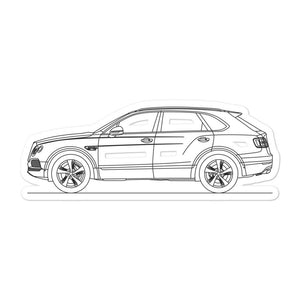 Bentley Bentayga Sticker