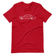 Load image into Gallery viewer, BMW E23 745i T-shirt Red - Artlines Design