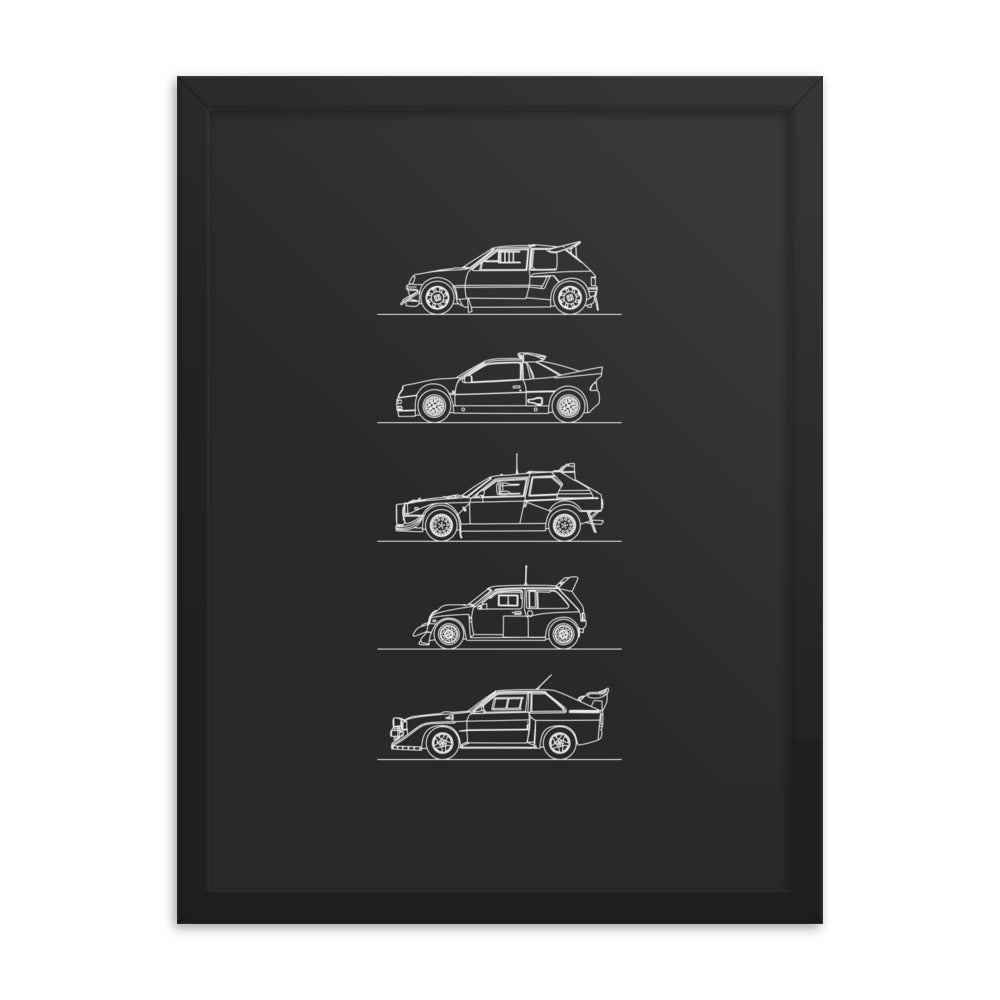 Group B Rally Legends Poster