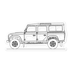 Land Rover Defender 110 Sticker