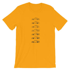 Porsche 911 Turbo Evolution T-shirt - Artlines Design