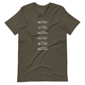 Ford Mustang Evolution T-shirt