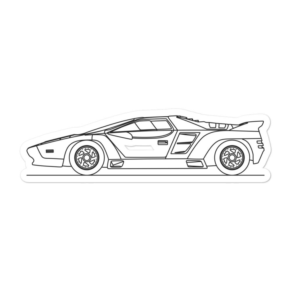 Vector W8 Sticker