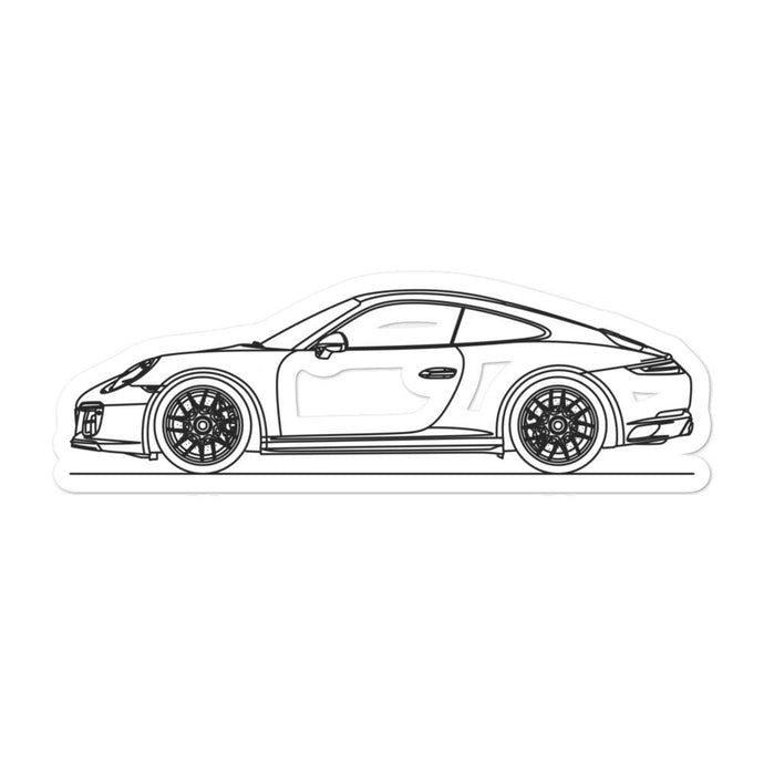 Porsche 911 991.2 GTS Sticker - Artlines Design