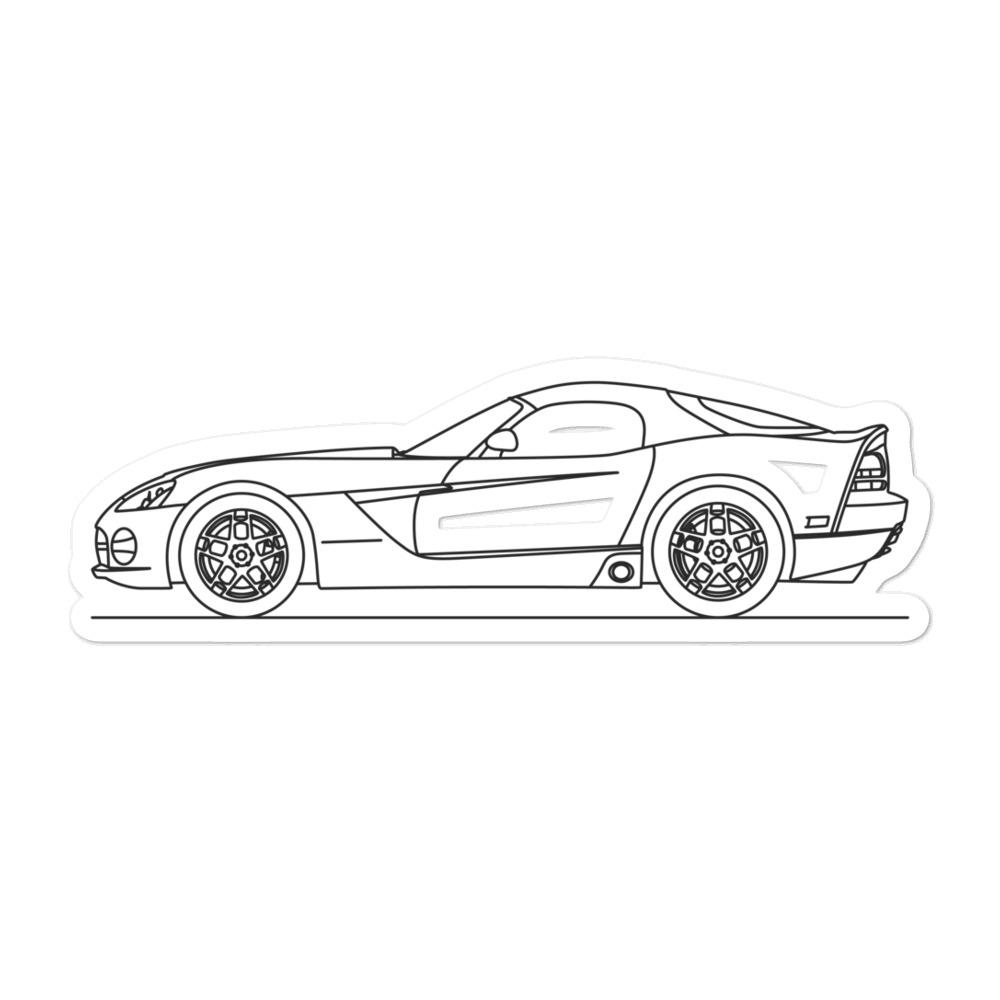 Dodge Viper II Sticker - Artlines Design