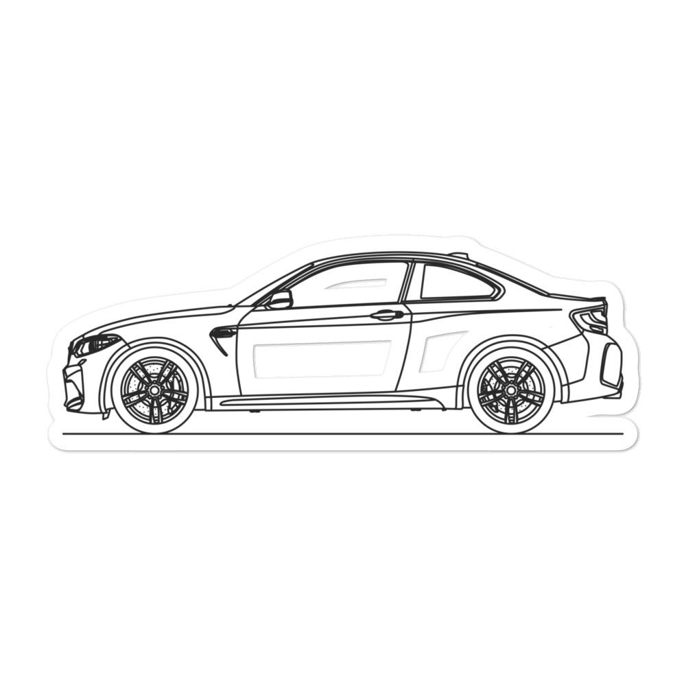 BMW F87 M2 Sticker - Artlines Design