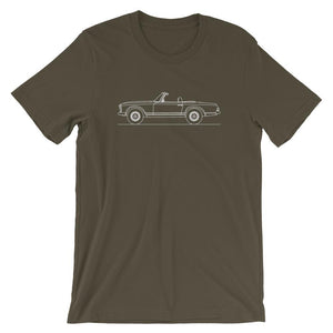 Mercedes-Benz W113 280 SL T-shirt - Artlines Design