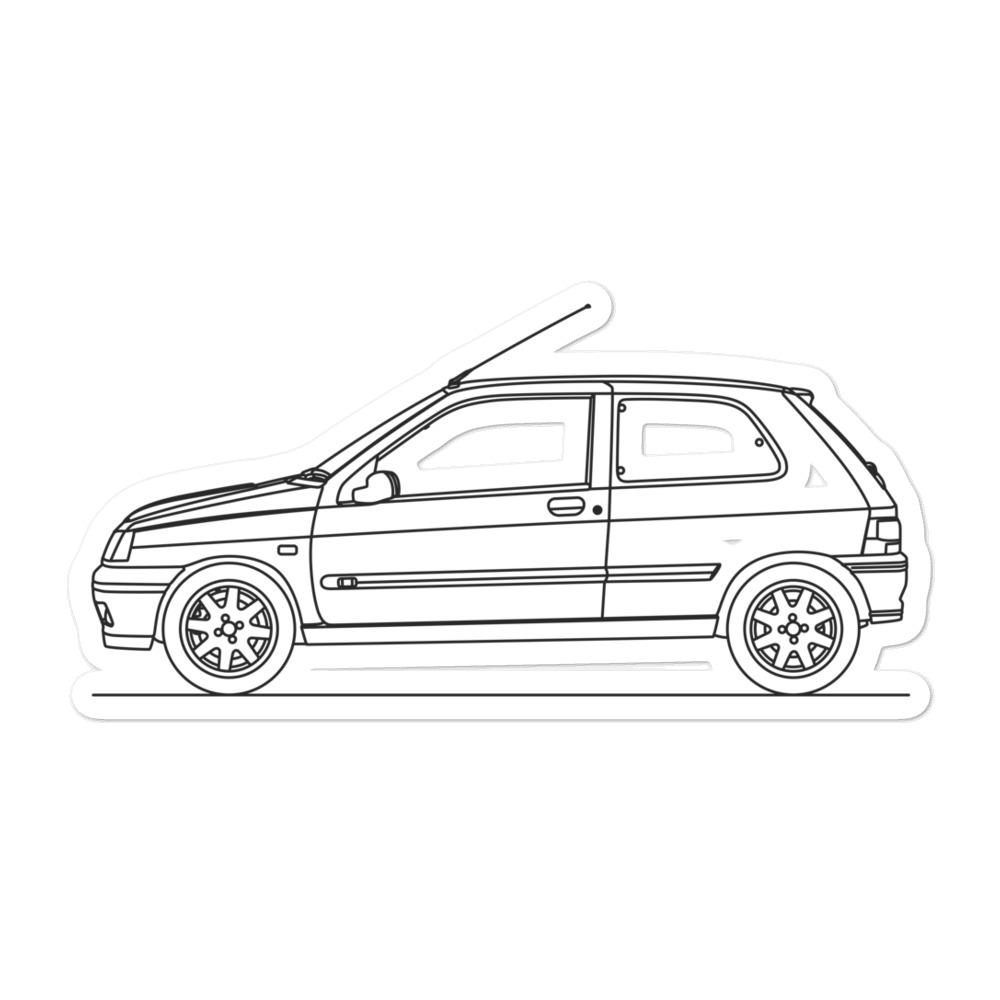 Renault Clio Williams Sticker