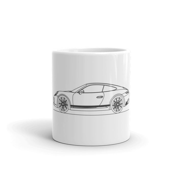 Porsche 911 991.2 Carrera T Stripes Mug