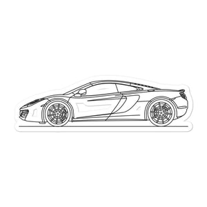 McLaren 12C Sticker - Artlines Design
