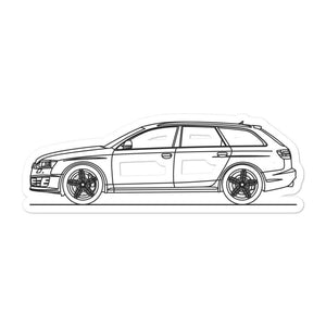 Audi C6 RS6 Avant Sticker - Artlines Design