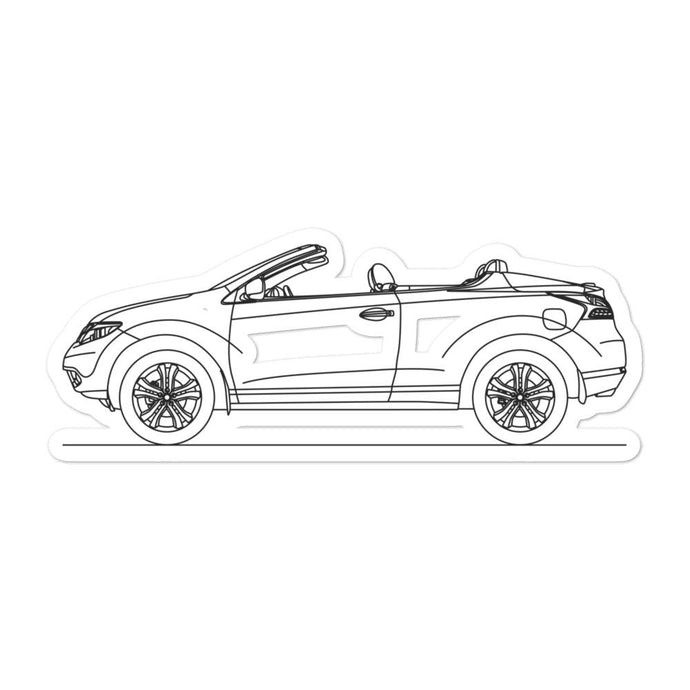 Nissan Murano CrossCabriolet Sticker - Artlines Design