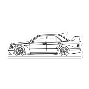 Mercedes-Benz W201 190E 2.5-16 Evo II Sticker - Artlines Design