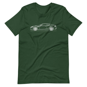 Aston Martin DB9 Forest T-shirt - Artlines Design