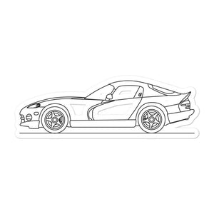 Dodge Viper I Sticker - Artlines Design