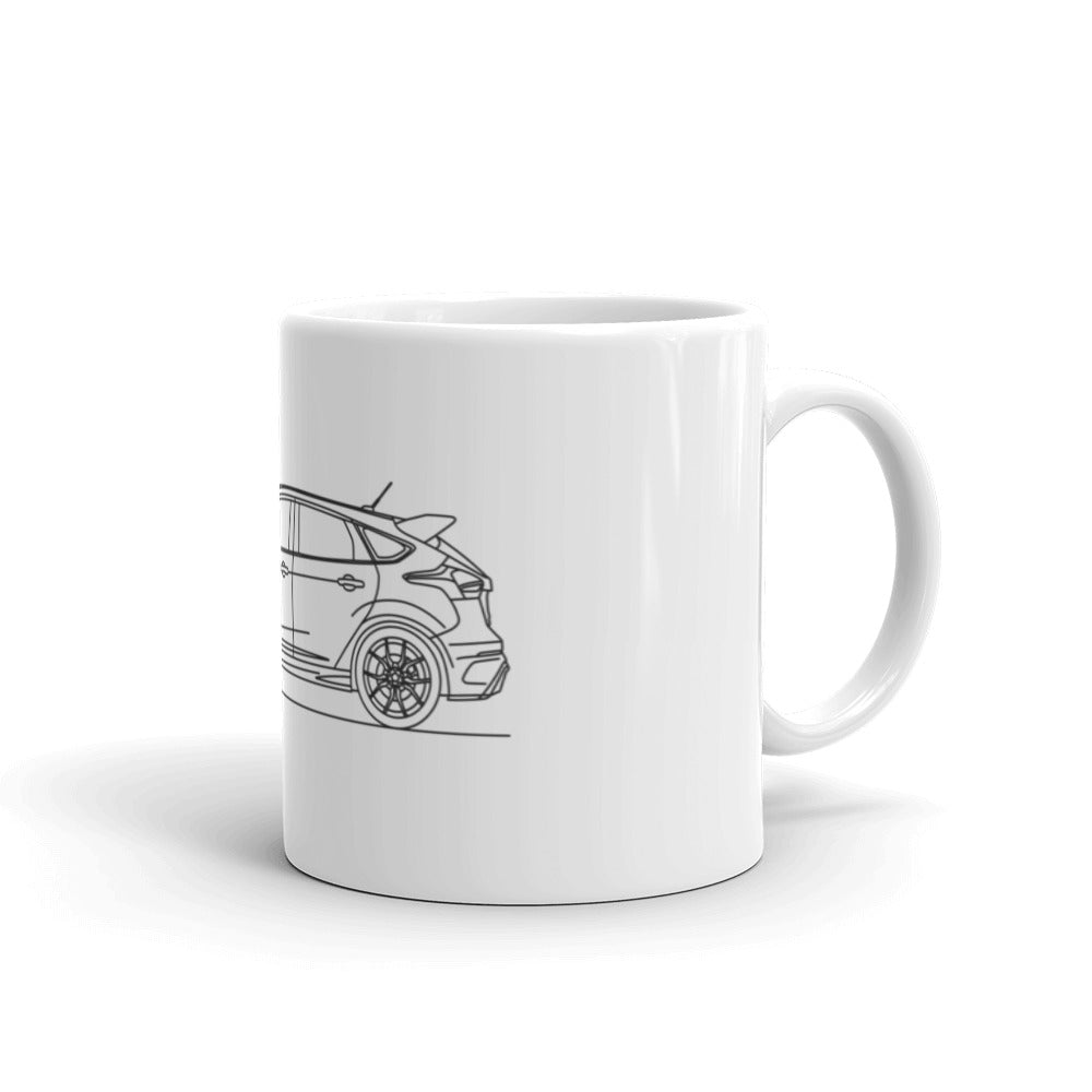 Ford Focus RS 3rd Gen Mug