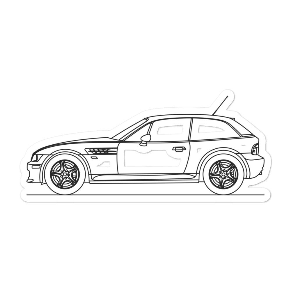 BMW E36 Z3M Coupe Sticker - Artlines Design