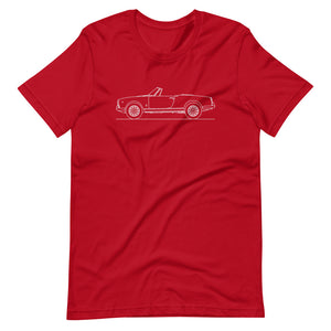Alfa Romeo Giulietta Spider Red T-shirt - Artlines Design