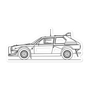 Lancia Delta S4 Sticker - Artlines Design