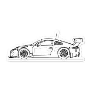 Porsche 911 991.1 FIA GT3 Sticker - Artlines Design