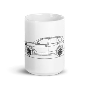 BMW F95 X5 M Competition Mug