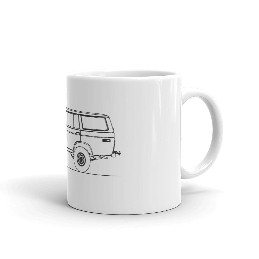 Toyota Land Cruiser J50 Mug