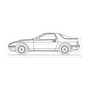Mazda RX-7 FC Sticker - Artlines Design