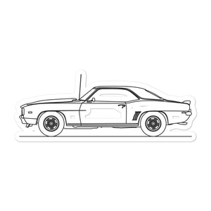 Chevrolet Camaro Z28 I Sticker