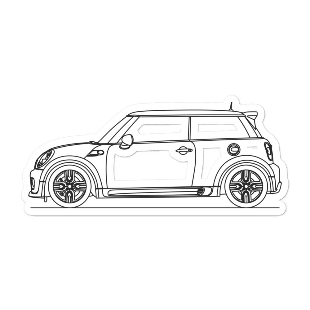 MINI Cooper R56 JCW Sticker