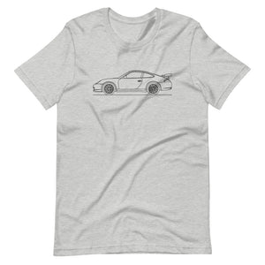 Porsche 911 996 GT3 RS T-shirt Athletic Heather - Artlines Design