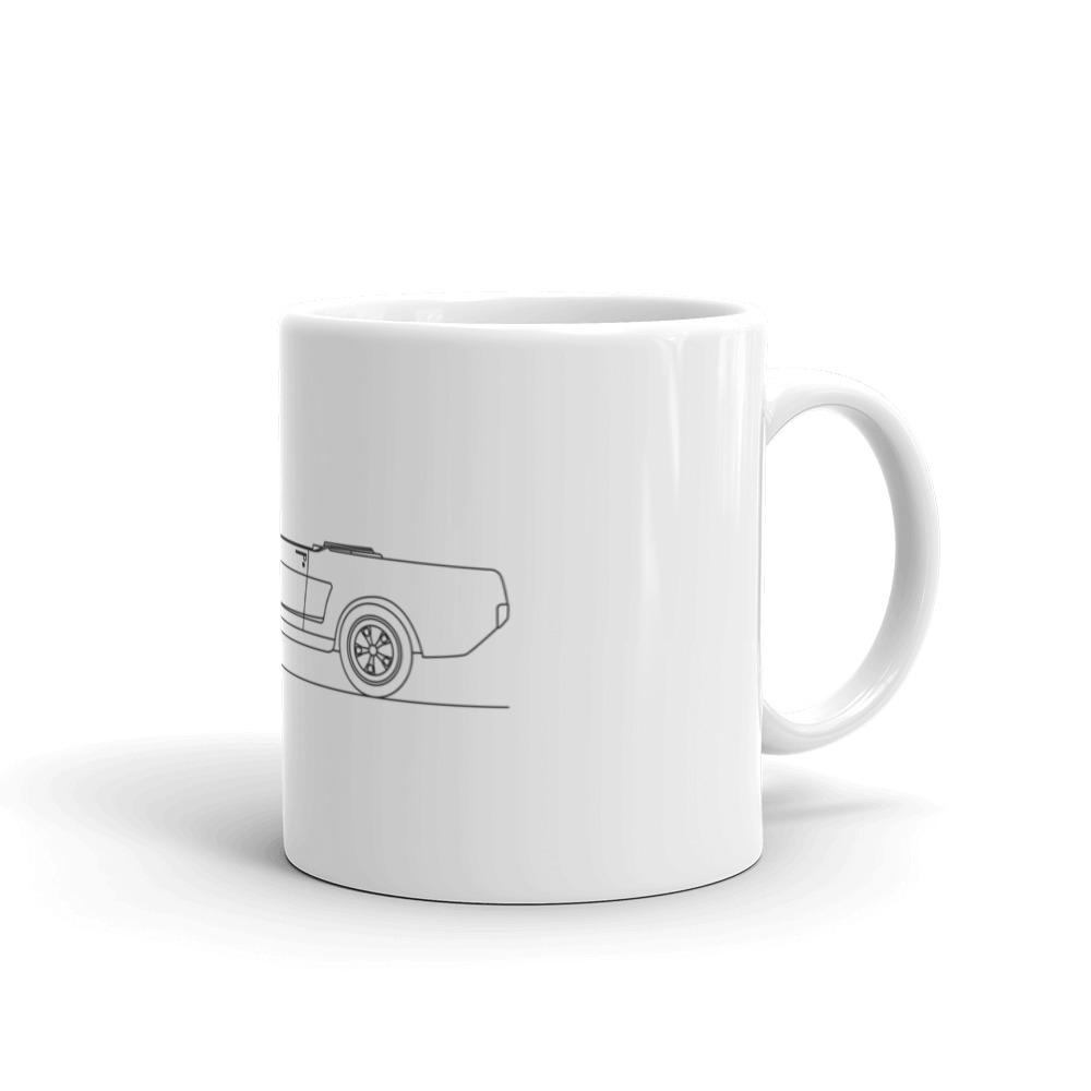 Ford Mustang I GT Convertible Mug - Artlines Design