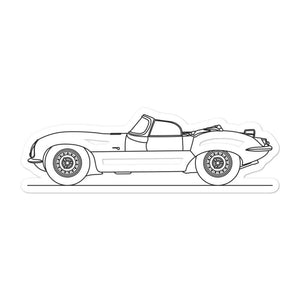 Jaguar XKSS Sticker