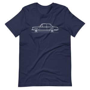 BMW 2002 T-shirt Navy - Artlines Design