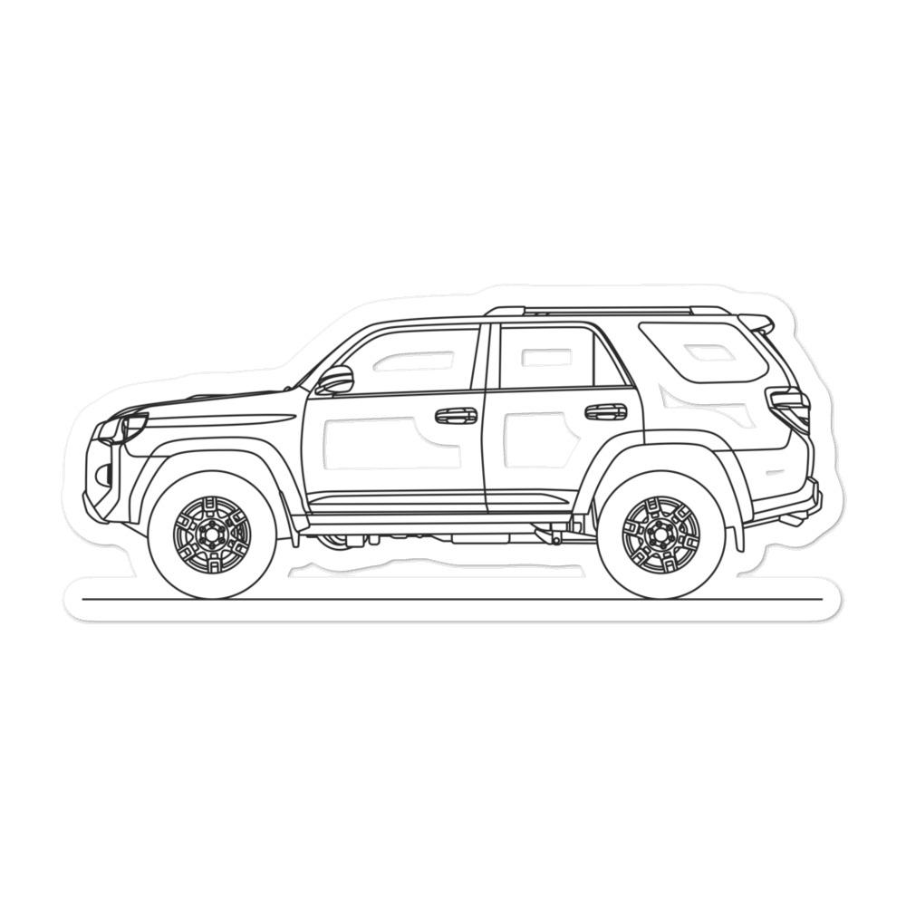Toyota 4Runner TRD Pro N280 Sticker - Artlines Design