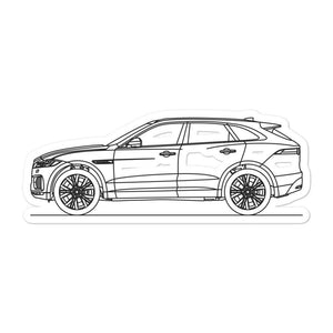 Jaguar F-Pace Sticker
