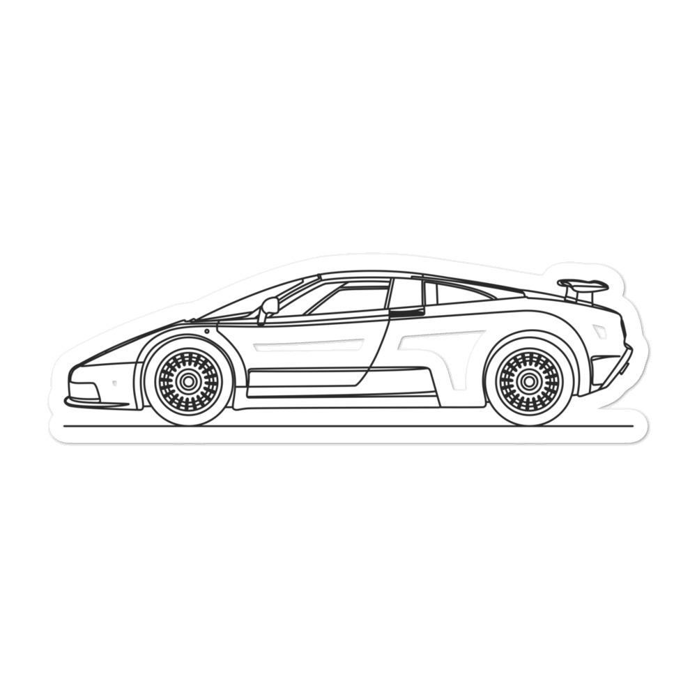 Bugatti EB110 Sticker - Artlines Design