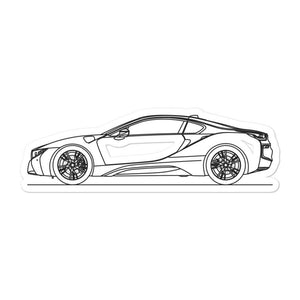 BMW i8 Sticker - Artlines Design