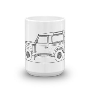 Land Rover Defender Mug