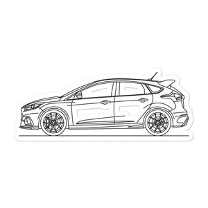 Ford Focus III RS Sticker - Artlines Design