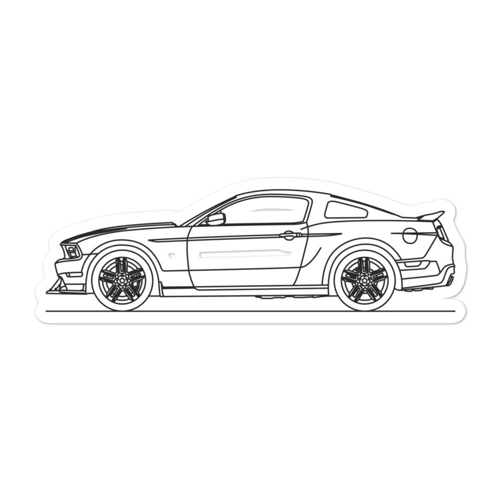 Ford Mustang S197 Boss 302 Sticker