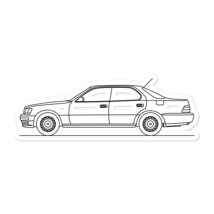 Lexus LS 400 Sticker - Artlines Design