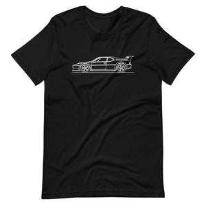 BMW E26 M1 Procar T-shirt Black - Artlines Design