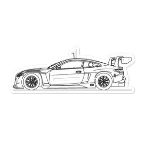 BMW G82 M4 GT3 Sticker