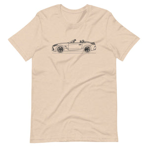 BMW G29 Z4 M40i T-shirt Heather Dust - Artlines Design